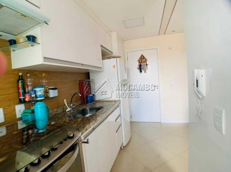 Cozinha - Apartamento 2 quartos à venda Itatiba,SP - R$ 275.000 - FCAP21231 - 1