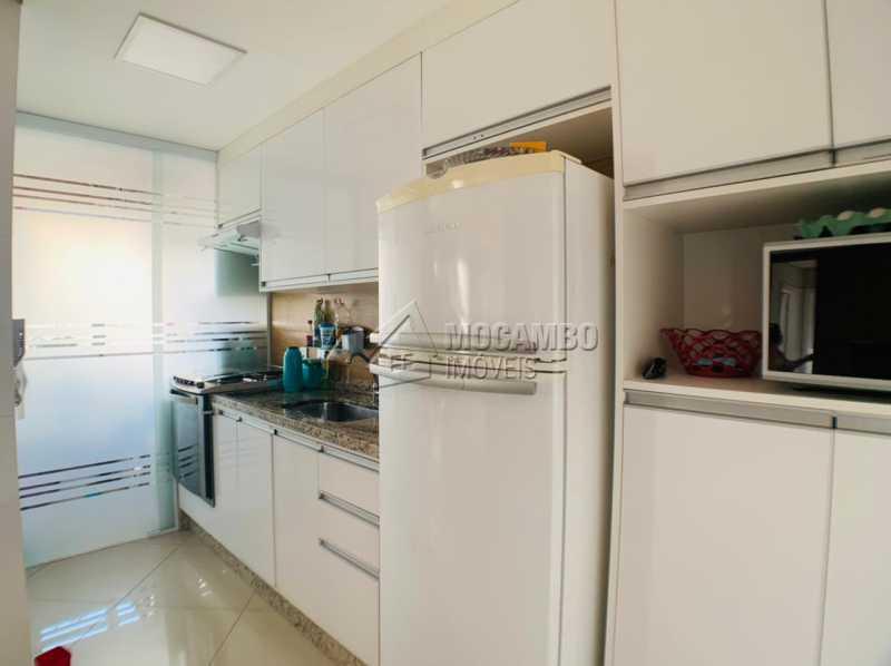 Cozinha - Apartamento 2 quartos à venda Itatiba,SP - R$ 275.000 - FCAP21231 - 3