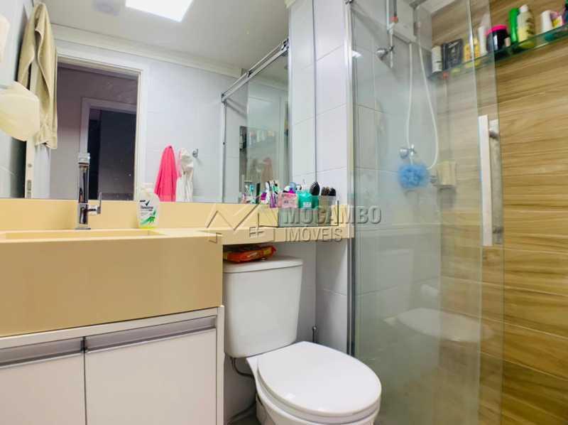 Banheiro  - Apartamento 2 quartos à venda Itatiba,SP - R$ 275.000 - FCAP21231 - 8