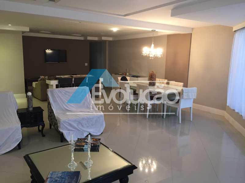 SALA - Apartamento 3 quartos para venda e aluguel Recreio dos Bandeirantes, Rio de Janeiro - R$ 2.100.000 - V0191 - 4