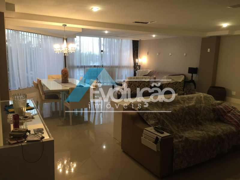 SALA - Apartamento 3 quartos para venda e aluguel Recreio dos Bandeirantes, Rio de Janeiro - R$ 2.100.000 - V0191 - 3