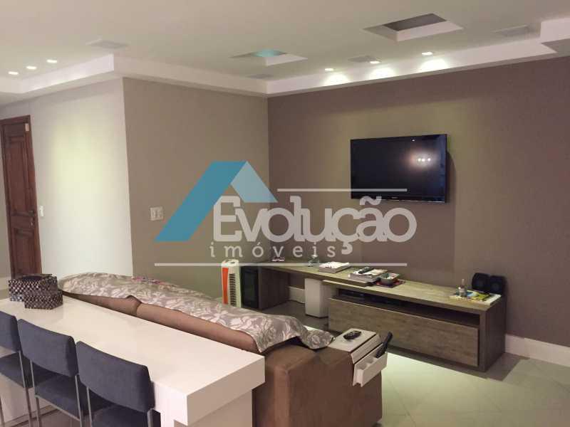 SALA - Apartamento 3 quartos para venda e aluguel Recreio dos Bandeirantes, Rio de Janeiro - R$ 2.100.000 - V0191 - 5
