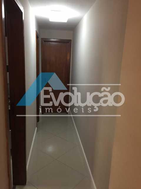 CORREDOR QUARTOS - Apartamento 3 quartos para venda e aluguel Recreio dos Bandeirantes, Rio de Janeiro - R$ 2.100.000 - V0191 - 6