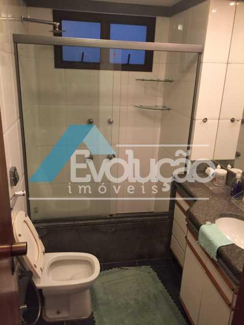 BANHEIRO DA SUÍTE - Apartamento 3 quartos para venda e aluguel Recreio dos Bandeirantes, Rio de Janeiro - R$ 2.100.000 - V0191 - 18