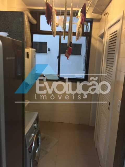 ÁREA DE SERVIÇO - Apartamento 3 quartos para venda e aluguel Recreio dos Bandeirantes, Rio de Janeiro - R$ 2.100.000 - V0191 - 22