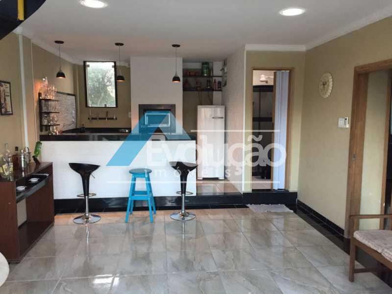 ÁREA GOURMET 2º ANDAR - Casa 3 quartos à venda Campo Grande, Rio de Janeiro - R$ 550.000 - V0202 - 3