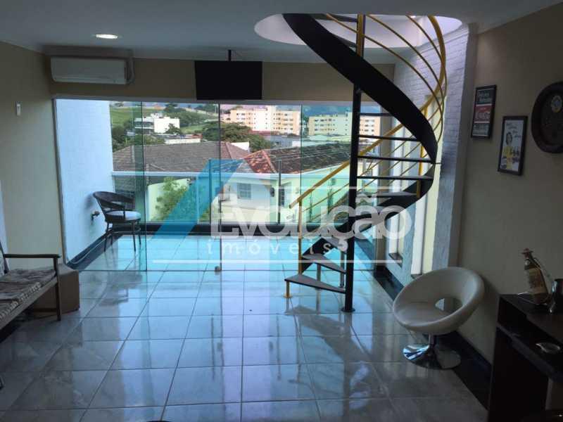ÁREA GOURMET 2º ANDAR - Casa 3 quartos à venda Campo Grande, Rio de Janeiro - R$ 550.000 - V0202 - 4