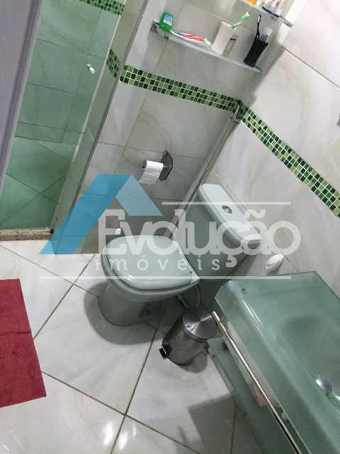 BANHEIRO 1º ANDAR - Casa 3 quartos à venda Campo Grande, Rio de Janeiro - R$ 550.000 - V0202 - 12