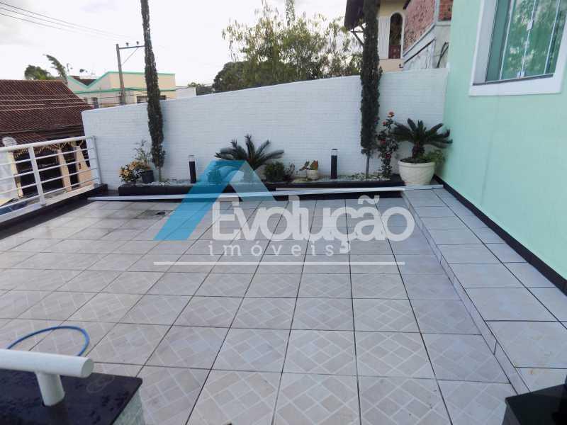 QUINTAL FRENTE - Casa 3 quartos à venda Campo Grande, Rio de Janeiro - R$ 550.000 - V0202 - 13