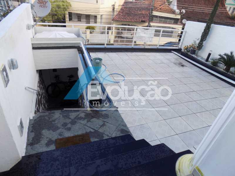 QUINTAL FRENTE - Casa 3 quartos à venda Campo Grande, Rio de Janeiro - R$ 550.000 - V0202 - 15