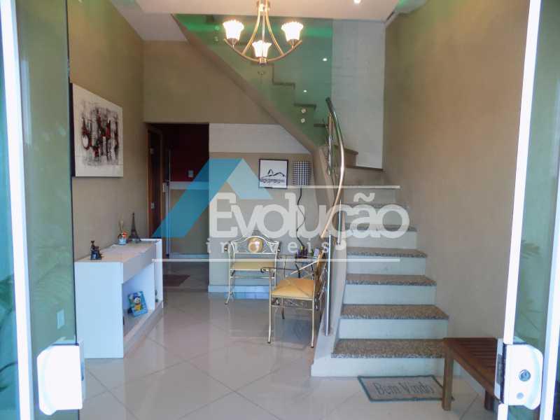 HALL DE ENTRADA - Casa 3 quartos à venda Campo Grande, Rio de Janeiro - R$ 550.000 - V0202 - 1