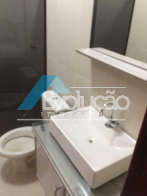 BANHEIRO SOCIAL - Casa em Condomínio 3 quartos à venda Pechincha, Rio de Janeiro - R$ 680.000 - V0217 - 4