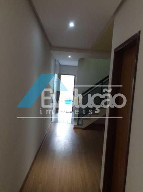 DA COZINHA PARA SALA - Casa em Condomínio 3 quartos à venda Pechincha, Rio de Janeiro - R$ 680.000 - V0217 - 7