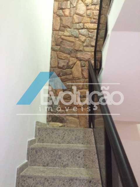 ESCADA DE ACESSO AOS QUARTOS - Casa em Condomínio 3 quartos à venda Pechincha, Rio de Janeiro - R$ 680.000 - V0217 - 3