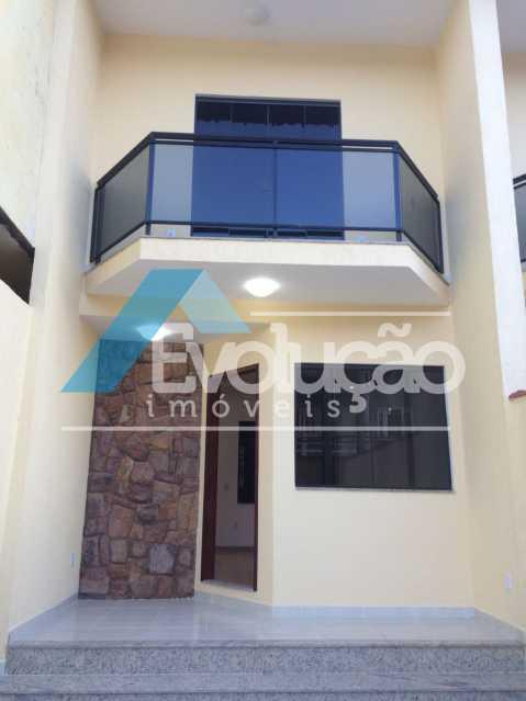 FRENTE CASA - Casa em Condomínio 3 quartos à venda Pechincha, Rio de Janeiro - R$ 680.000 - V0217 - 1