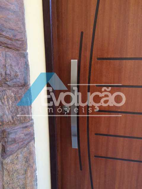 PORTA ENTRADA SALA - Casa em Condomínio 3 quartos à venda Pechincha, Rio de Janeiro - R$ 680.000 - V0217 - 9