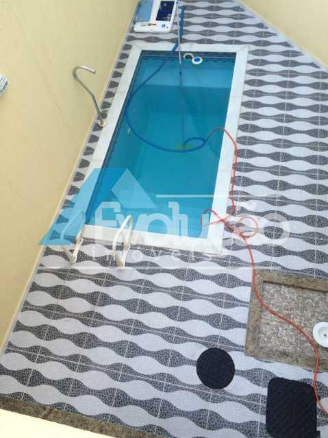 PISCINA - Casa em Condomínio 3 quartos à venda Pechincha, Rio de Janeiro - R$ 680.000 - V0217 - 19