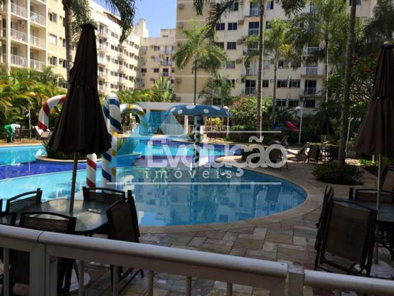 ÁREA DE LAZER CONDOMÍNIO - Apartamento 3 quartos à venda Campo Grande, Rio de Janeiro - R$ 360.000 - V0218 - 6