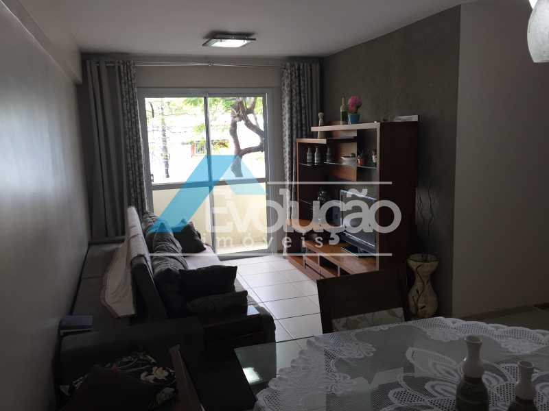SALA - Apartamento 3 quartos à venda Campo Grande, Rio de Janeiro - R$ 360.000 - V0218 - 5