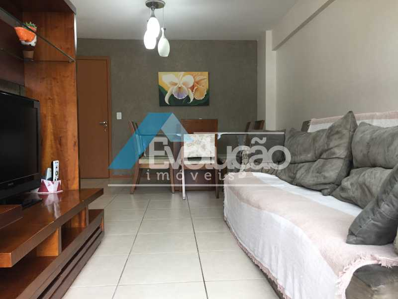 SALA - Apartamento 3 quartos à venda Campo Grande, Rio de Janeiro - R$ 360.000 - V0218 - 1