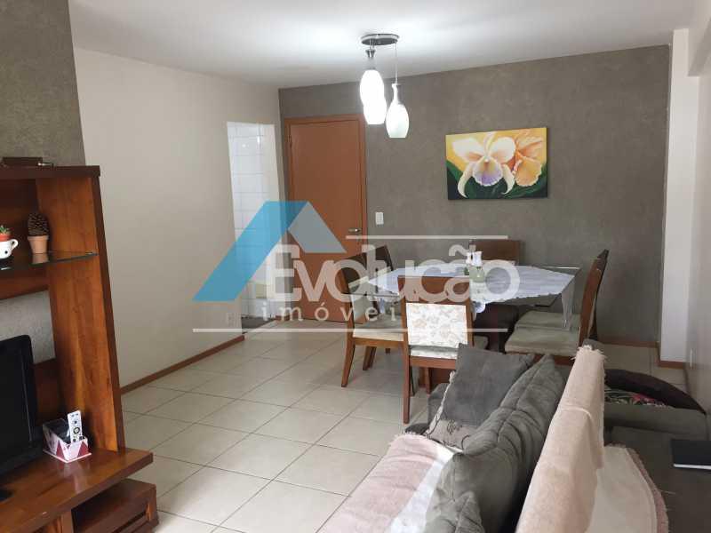 SALA - Apartamento 3 quartos à venda Campo Grande, Rio de Janeiro - R$ 360.000 - V0218 - 4