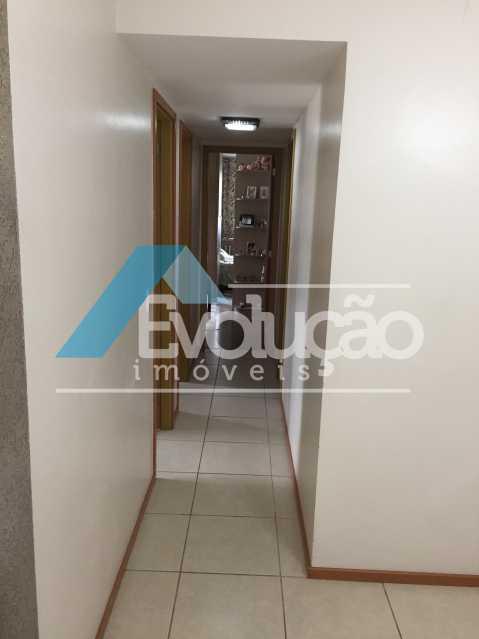 CORREDOR - Apartamento 3 quartos à venda Campo Grande, Rio de Janeiro - R$ 360.000 - V0218 - 8