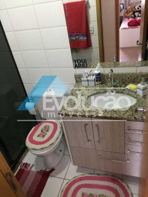 BANHEIRO SOCIAL - Apartamento 3 quartos à venda Campo Grande, Rio de Janeiro - R$ 360.000 - V0218 - 10