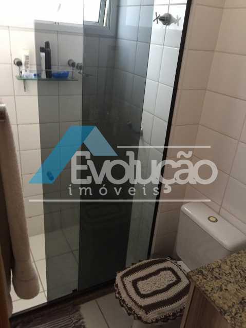 BANHEIRO DA SUÍTE - Apartamento 3 quartos à venda Campo Grande, Rio de Janeiro - R$ 360.000 - V0218 - 14