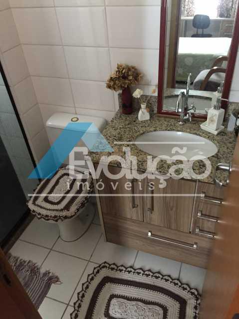 BANHEIRO DA SUÍTE - Apartamento 3 quartos à venda Campo Grande, Rio de Janeiro - R$ 360.000 - V0218 - 15
