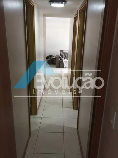 CORREDOR - Apartamento 3 quartos à venda Campo Grande, Rio de Janeiro - R$ 360.000 - V0218 - 16