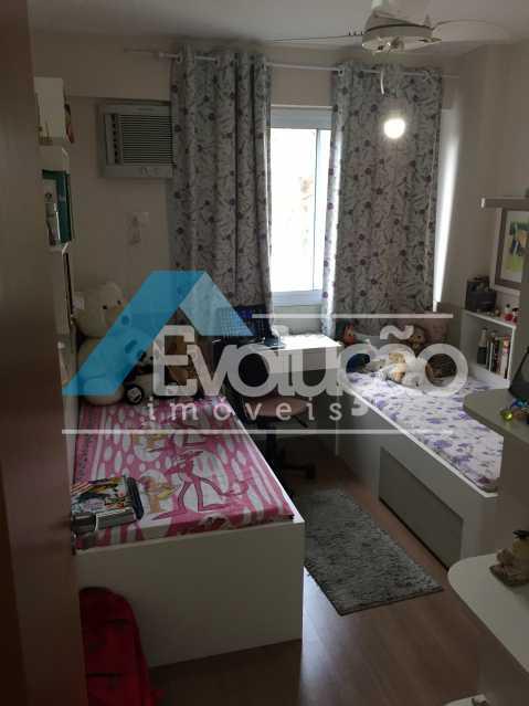QUARTO 2 - Apartamento 3 quartos à venda Campo Grande, Rio de Janeiro - R$ 360.000 - V0218 - 18