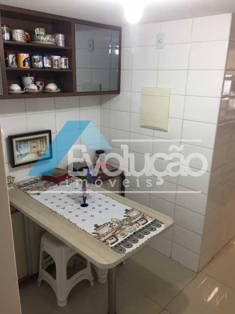 COZINHA - Apartamento 3 quartos à venda Campo Grande, Rio de Janeiro - R$ 360.000 - V0218 - 21