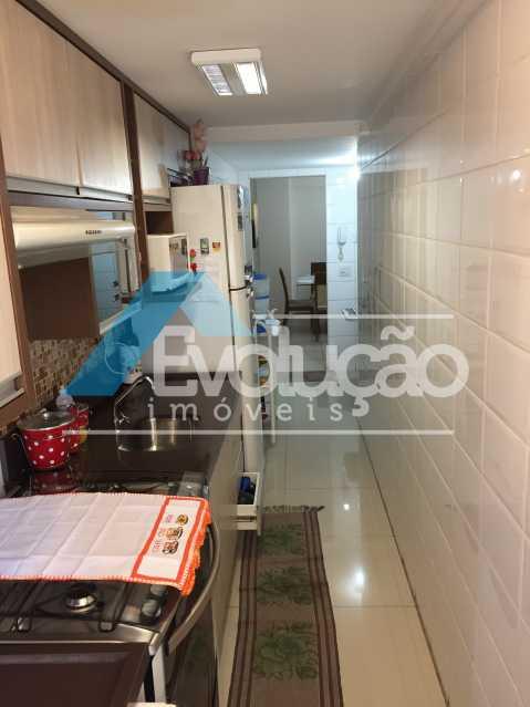 COZINHA - Apartamento 3 quartos à venda Campo Grande, Rio de Janeiro - R$ 360.000 - V0218 - 23