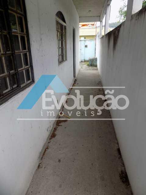LATERAL CASA - Casa 2 quartos à venda Guaratiba, Rio de Janeiro - R$ 280.000 - V0221 - 3