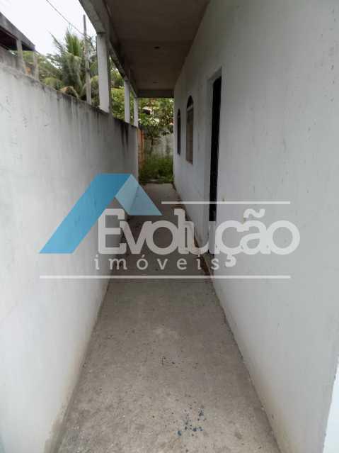 LATERAL CASA - Casa 2 quartos à venda Guaratiba, Rio de Janeiro - R$ 280.000 - V0221 - 1