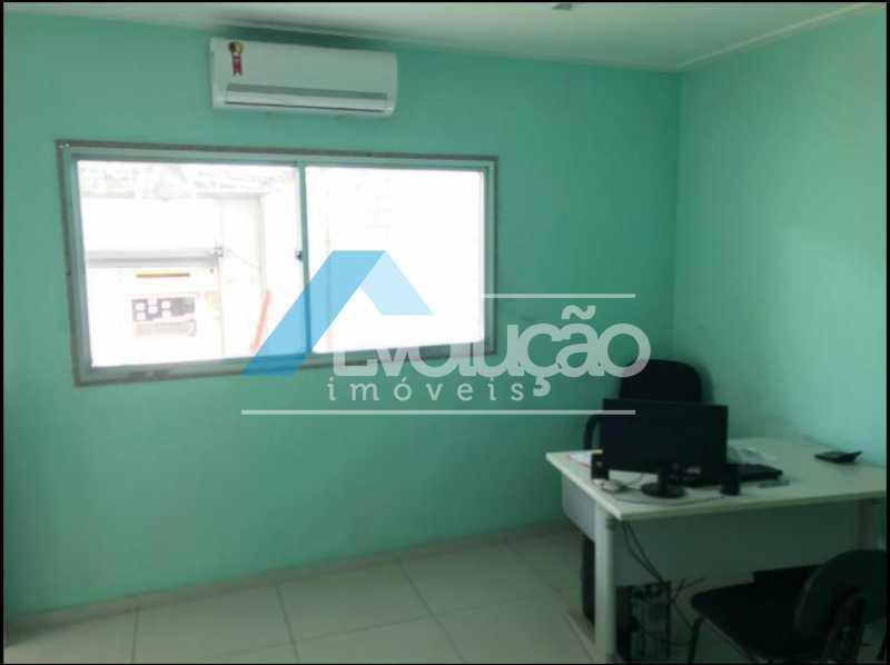 ESCRITÓRIO COM MOBILIA E AR - Galpão 225m² para alugar Rua João Gualberto Braga,Campo Grande, Rio de Janeiro - R$ 4.999 - A0274 - 8