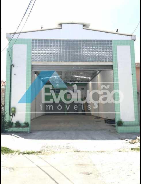FACHADA - Galpão 225m² para alugar Rua João Gualberto Braga,Campo Grande, Rio de Janeiro - R$ 4.999 - A0274 - 7