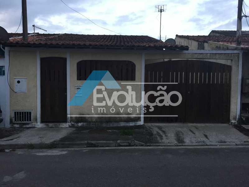 FACHADA - Casa 2 quartos para alugar Campo Grande, Rio de Janeiro - R$ 960 - A0119 - 1