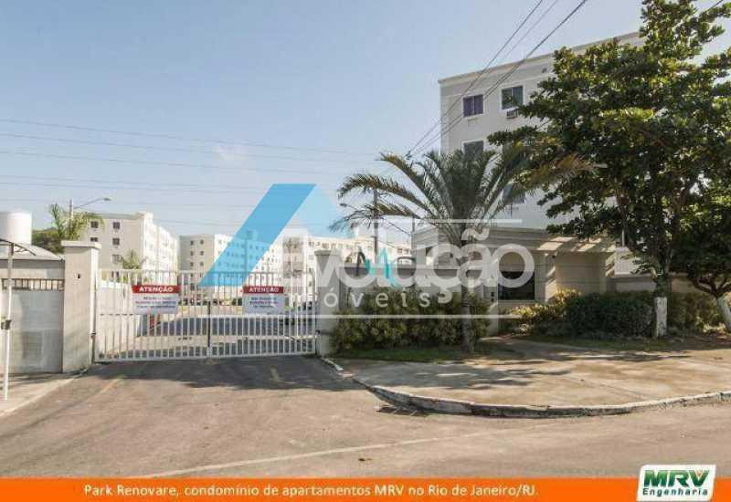 FACHADA CONDOMÍNIO - Apartamento 3 quartos para venda e aluguel Campo Grande, Rio de Janeiro - R$ 230.000 - A0281 - 5