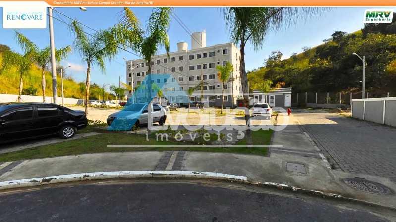 CONDOMÍNIO - Apartamento 3 quartos para venda e aluguel Campo Grande, Rio de Janeiro - R$ 230.000 - A0281 - 6