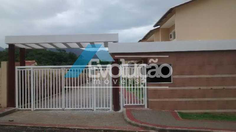 FRENTE CONDOMÍNIO - Casa em Condomínio 2 quartos à venda Campo Grande, Rio de Janeiro - R$ 305.000 - V0236 - 4