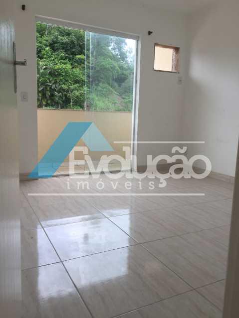 QUARTO 2 COM SACADA - Casa em Condomínio 2 quartos à venda Campo Grande, Rio de Janeiro - R$ 305.000 - V0236 - 17
