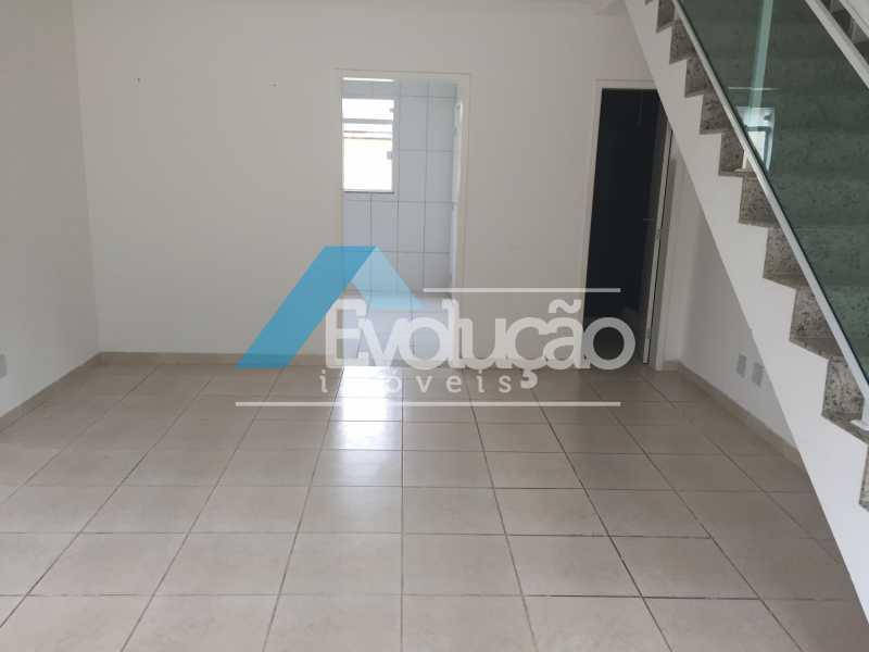 SALA - Casa em Condomínio 2 quartos à venda Campo Grande, Rio de Janeiro - R$ 305.000 - V0236 - 11