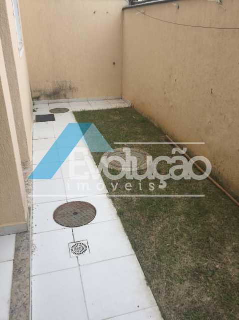 QUINTAL FUNDOS - Casa em Condomínio 2 quartos à venda Campo Grande, Rio de Janeiro - R$ 305.000 - V0236 - 6