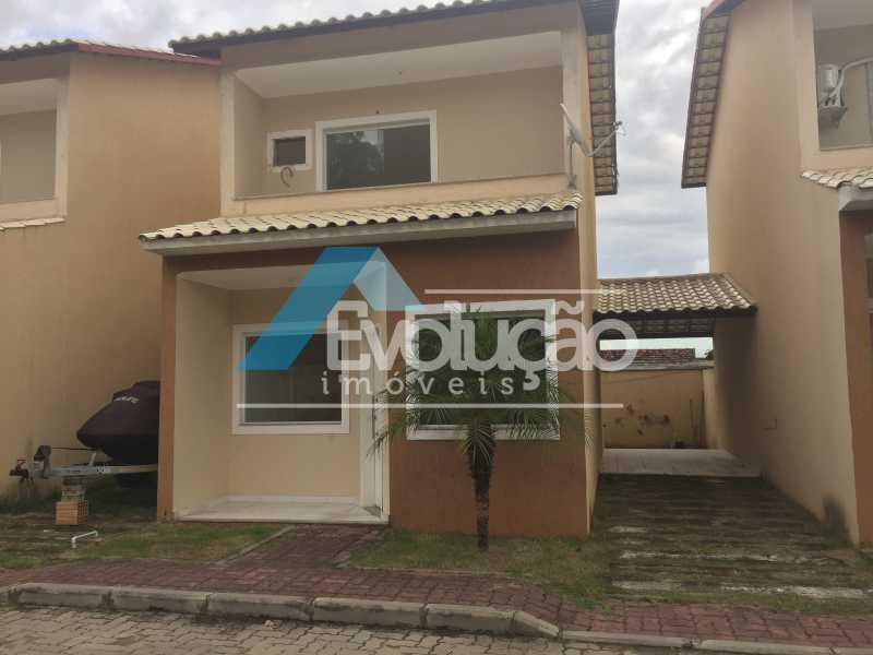 FRENTE CASA - Casa em Condomínio 2 quartos à venda Campo Grande, Rio de Janeiro - R$ 305.000 - V0236 - 1