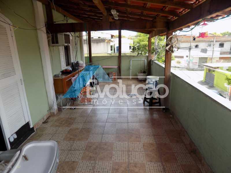 VARANDÃO - Casa à venda Campo Grande, Rio de Janeiro - R$ 140.000 - V0238 - 1