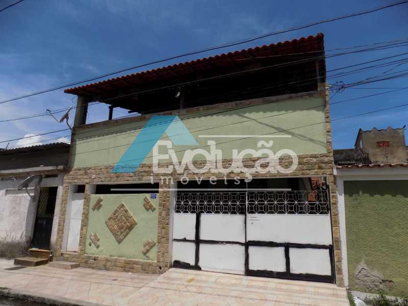 FACHADA - Casa à venda Campo Grande, Rio de Janeiro - R$ 140.000 - V0238 - 11
