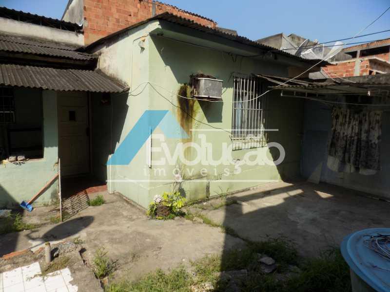 FACHADA CASA - Casa de Vila À Venda - Padre Miguel - Rio de Janeiro - RJ - V0242 - 12