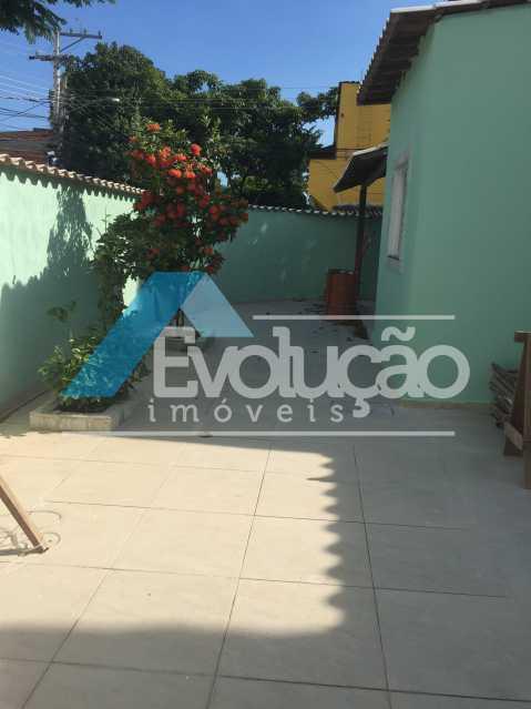 FRENTE CASA - Casa 2 quartos para alugar Campo Grande, Rio de Janeiro - R$ 1.500 - A0300 - 3