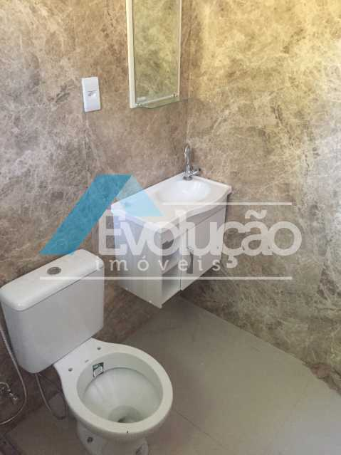 BANHEIRO DA SUÍTE - Casa 2 quartos para alugar Campo Grande, Rio de Janeiro - R$ 1.500 - A0300 - 13